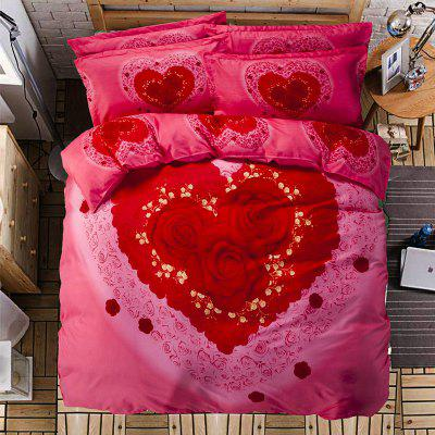 Autumn Gules Love Pattern Bedding article Four piece suitBedding Sets<br>Autumn Gules Love Pattern Bedding article Four piece suit<br><br>Available Color: Red<br>Materials: Cotton<br>Package Contents: 2 x Pillow, 1 x Quilt, 1 x Bed Sheet<br>Package Size(L x W x H): 45.00 x 35.00 x 12.00 cm / 17.72 x 13.78 x 4.72 inches<br>Package weight: 2.3000 kg<br>Product weight: 2.2000 kg