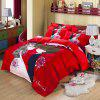 Autumn China  Gules Pattern Bedding article Four piece suit - FLAME