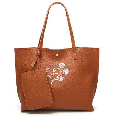 Single Shoulder Fashion Printing Bag Large Capacity Bag