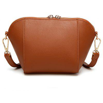 Fashionable Atmosphere Retro Crossbody BagCrossbody Bags<br>Fashionable Atmosphere Retro Crossbody Bag<br><br>Closure Type: Zipper<br>Gender: For Women<br>Handbag Type: Crossbody bag<br>Main Material: PU<br>Occasion: Versatile<br>Package Contents: 1 x Cross-body Bag<br>Package size (L x W x H): 13.00 x 11.00 x 13.00 cm / 5.12 x 4.33 x 5.12 inches<br>Package weight: 0.5000 kg<br>Pattern Type: Solid<br>Style: Vintage