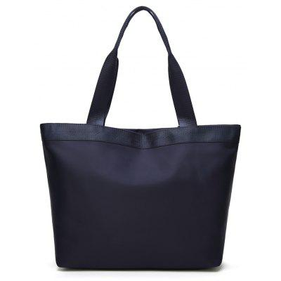 Oxford Cloth Fashion HandbagHandbags<br>Oxford Cloth Fashion Handbag<br><br>Closure Type: Open<br>Embellishment: Letter<br>Exterior: Open Pocket<br>Gender: For Women<br>Handbag Type: Day Clutches<br>Lining Material: PU<br>Main Material: PU<br>Number of Handles / Straps: Two<br>Package Contents: 1 x Handbag<br>Package size (L x W x H): 32.00 x 13.00 x 31.00 cm / 12.6 x 5.12 x 12.2 inches<br>Package weight: 0.5000 kg<br>Pattern Type: Solid<br>Shape: Casual Tote<br>Style: Casual<br>Weight: 2.5792kg