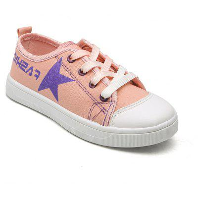 The Little Girl All-Match Simple Girls Canvas Shoes Shoes A Student