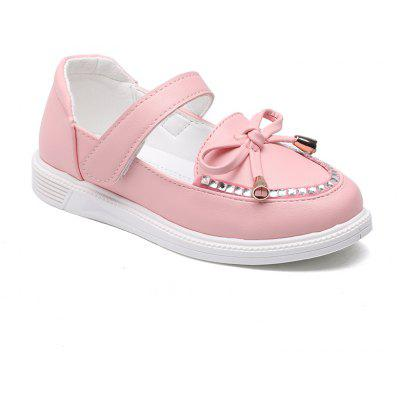 Girls Leather Shoes Bow Tie Princess Shoes Students Leather Shoes Shoes, Dancing Shoes
