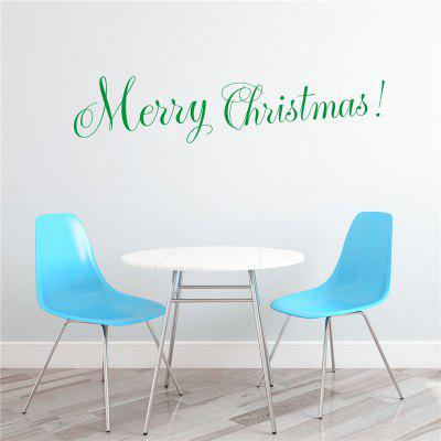 Merry Christmas Removable Wall Stickers Decoration