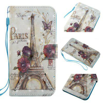 The New 3D Painting Point Drill Phone Case for Huawei P8 Lite 2017