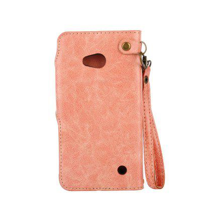 Retro Rose PU Phone Case for Huawei Noka Lumia 640Cases &amp; Leather<br>Retro Rose PU Phone Case for Huawei Noka Lumia 640<br><br>Features: Cases with Stand, With Credit Card Holder, With Lanyard, Dirt-resistant<br>Mainly Compatible with: Nokia<br>Material: TPU, PU Leather<br>Package Contents: 1 x Phone Case<br>Package size (L x W x H): 16.20 x 8.20 x 1.60 cm / 6.38 x 3.23 x 0.63 inches<br>Package weight: 0.0680 kg<br>Style: Vintage