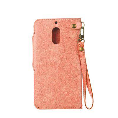 Retro Rose PU Phone Case for Huawei Noka 6Cases &amp; Leather<br>Retro Rose PU Phone Case for Huawei Noka 6<br><br>Features: Cases with Stand, With Credit Card Holder, With Lanyard, Dirt-resistant<br>Mainly Compatible with: Nokia<br>Material: TPU, PU Leather<br>Package Contents: 1 x Phone Case<br>Package size (L x W x H): 16.80 x 8.50 x 1.60 cm / 6.61 x 3.35 x 0.63 inches<br>Package weight: 0.0700 kg<br>Style: Vintage