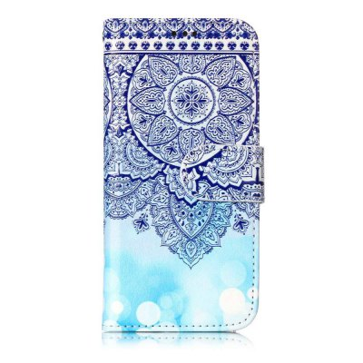 Varnish Embossed Painted PU Phone Case for Ipod Touch 5 / 6