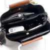 Wide Shoulder Strap Fringed Handbags Europe and the United States Fashion Ladies Package - BLACK