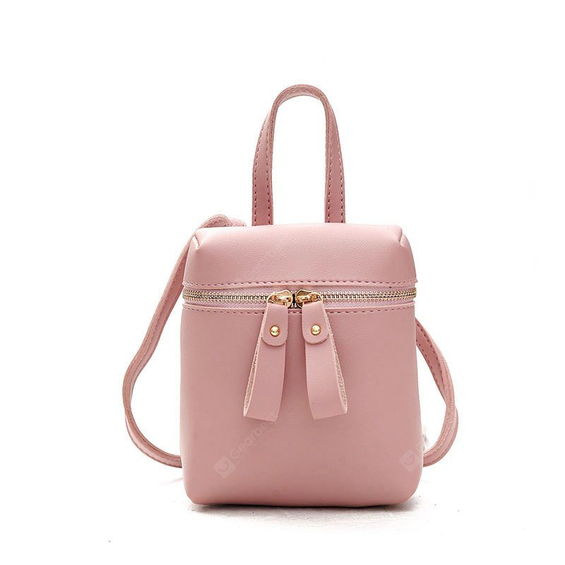 Zipper oblique handbag Small and Exquisite Beauty and Generous