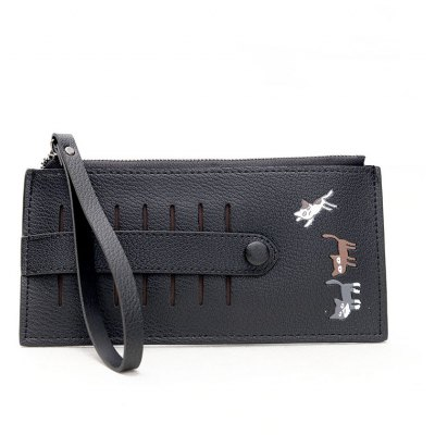 8021 Embroidery Card Pack High Quality Ladies Wallet