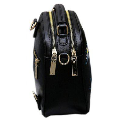 New PU Embroidered Backpack Mini HandbagBackpacks<br>New PU Embroidered Backpack Mini Handbag<br><br>Capacity: 1 - 10L<br>For: Casual, Work, Traveling<br>Gender: For Women<br>Package Contents: 1x Backpack<br>Package size (L x W x H): 20.00 x 10.00 x 20.00 cm / 7.87 x 3.94 x 7.87 inches<br>Package weight: 0.5500 kg<br>Strap Length: 100<br>Style: Cute, Leisure, Fashion<br>Type: Backpack