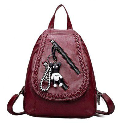 Ladies Shoulder Bag Travel and Leisure Small Backpack