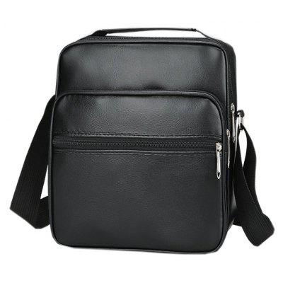 PU Leather Men's Shoulder Messenger Bag