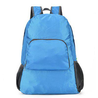 Travel Outdoors Foldable Pack Male and Female General Large-Capacity Mountaineering Bag