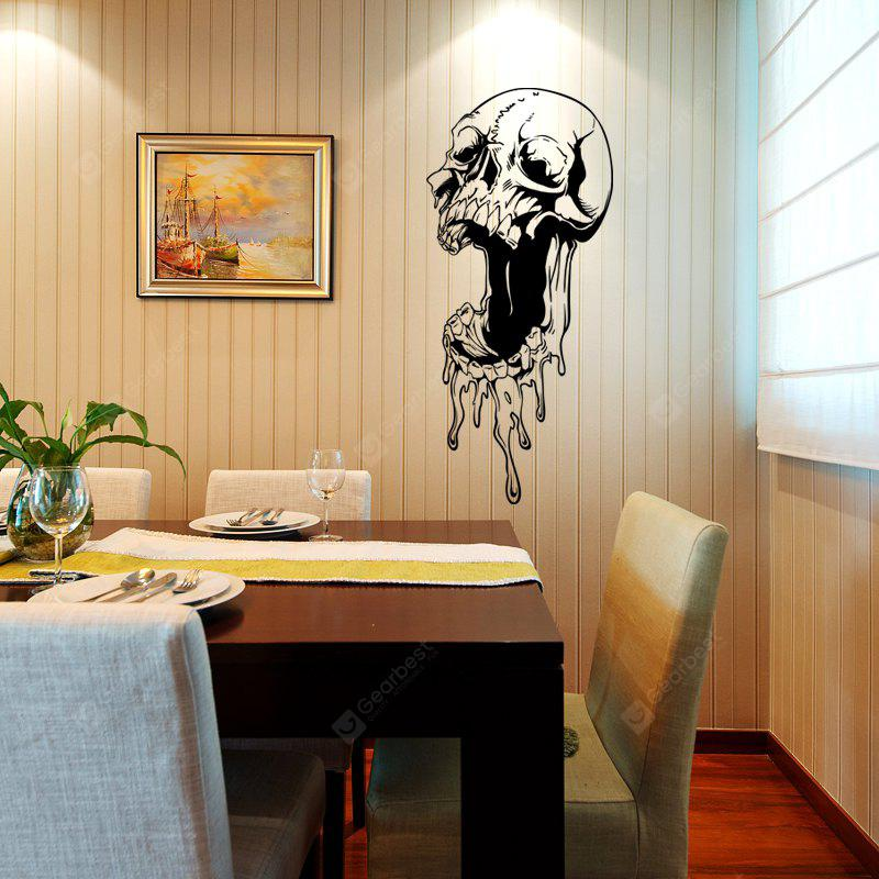 DSU Coveted Skull Simple Art Wall Stickers