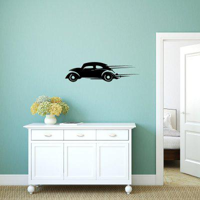 Buy DSU Speeding Car Simple Art Wall Stickers, BLACK, Home & Garden, Home Decors, Wall Art, Wall Stickers for $2.38 in GearBest store