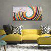 YHHP Hand-Painted Abstract Decorative Picture One Panel Canvas Oil Painting For Home Decoration - COLORMIX