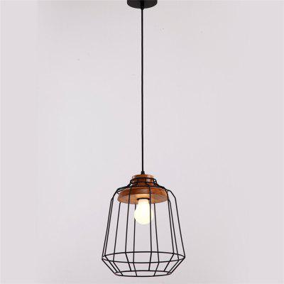 CXYlight DD - 052 American Style Retro Iron Pendant LightPendant Light<br>CXYlight DD - 052 American Style Retro Iron Pendant Light<br><br>Battery Included: No<br>Brand: CXYLight<br>Bulb Base: E27<br>Bulb Included: No<br>Chain / Cord Adjustable or Not: Chain / Cord Adjustable<br>Chain / Cord Length ( CM ): 100<br>Dimmable: No<br>Features: Wrought Iron<br>Fixture Height ( CM ): 30<br>Fixture Length ( CM ): 25<br>Fixture Width ( CM ): 25<br>Light Direction: Downlight<br>Number of Bulb Sockets: 1<br>Package Contents: 1 x Light, 1 x Assembly Parts<br>Package size (L x W x H): 28.00 x 28.00 x 35.00 cm / 11.02 x 11.02 x 13.78 inches<br>Package weight: 1.2000 kg<br>Product weight: 0.8000 kg<br>Remote Control Supported: No<br>Shade Material: Iron<br>Stepless Dimming: No<br>Style: Country, Modern/Contemporary, Simple Style<br>Suggested Room Size: 10 - 15?<br>Suggested Space Fit: Cafes,Dining Room,Indoors,Office,Study Room<br>Type: Pendant Light<br>Voltage ( V ): 220V - 240V