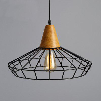 Buy BLACK CXYlight Dd 053 American Style Retro Village Iron Pendant Light for Restaurant Kitchen Living Room Study Room Coffee Shop for $49.10 in GearBest store