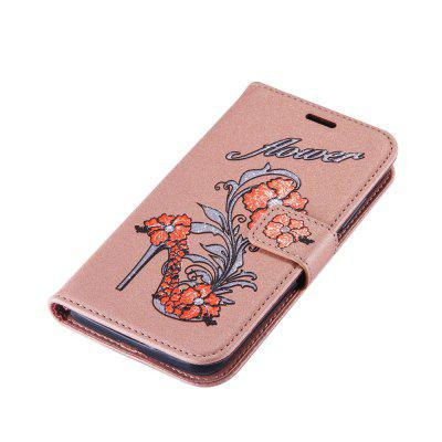 Wkae Printed Rattan Shoes Leather Case Cover with Hold Lanyard and Card Slots for Huawei Y5 2017Cases &amp; Leather<br>Wkae Printed Rattan Shoes Leather Case Cover with Hold Lanyard and Card Slots for Huawei Y5 2017<br><br>Compatible Model: Huawei Y5 2017<br>Features: Full Body Cases, Cases with Stand, With Credit Card Holder, Anti-knock, Dirt-resistant<br>Mainly Compatible with: HUAWEI<br>Material: TPU, PU Leather<br>Package Contents: 1 x Phone Case<br>Package size (L x W x H): 20.00 x 15.00 x 2.00 cm / 7.87 x 5.91 x 0.79 inches<br>Package weight: 0.1000 kg<br>Style: Novelty, Pattern
