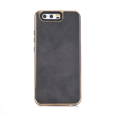 Dual Layer PC +TPU Eletroplating PC Retro Crazy Horse Leather Skin Shell Cover Case for iPhone X