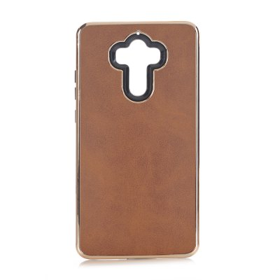 Buy BROWN Dual Layer PC +TPU Retro Crazy Horse Leather Case for HUAWEI Mate 9 for $5.35 in GearBest store