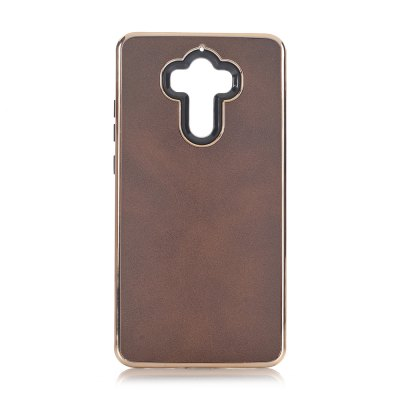 Buy COFFEE Dual Layer PC +TPU Retro Crazy Horse Leather Case for HUAWEI Mate 9 for $5.35 in GearBest store
