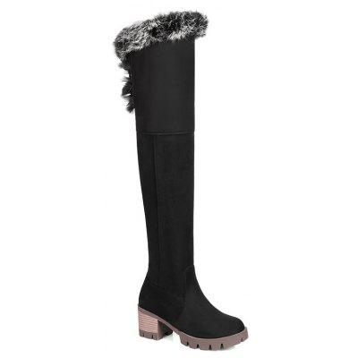 Autumn and Winter New Thick Bottom Long Boot