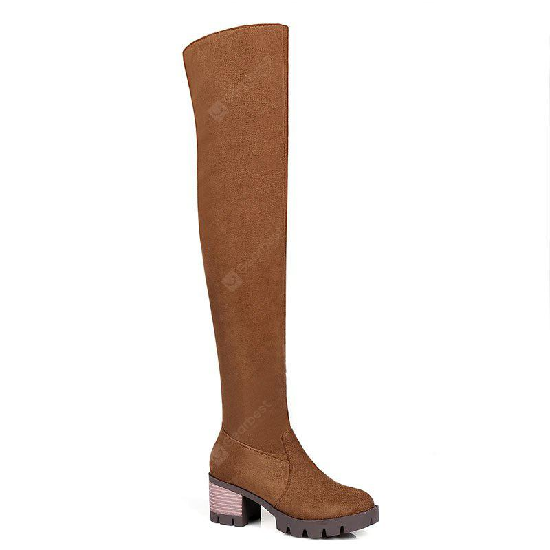 New Style Thick Simple Style Boots