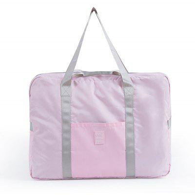 Buy PINK Foldable Travel Bag Luggage Bag Pants Women'S Trolley Bag Portable Light Fitness Kit Short-Distance Travel Bag Male Large Capacity for $22.75 in GearBest store