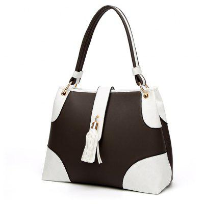 New Style of Ladies Bag Simple Tassel Shoulder BagHandbags<br>New Style of Ladies Bag Simple Tassel Shoulder Bag<br><br>Closure Type: Hasp<br>Embellishment: Button<br>Exterior: Solid Bag<br>Gender: For Women<br>Handbag Type: Shoulder bag<br>Lining Material: PU<br>Main Material: PU<br>Number of Handles / Straps: Two<br>Package Contents: 1 x Handbag<br>Package size (L x W x H): 35.00 x 14.00 x 26.00 cm / 13.78 x 5.51 x 10.24 inches<br>Package weight: 0.6000 kg<br>Pattern Type: Others<br>Shape: Hobos<br>Style: Dress<br>Weight: 2.5480kg