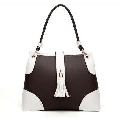 New Style of Ladies' Bag Simple Tassel Shoulder Bag