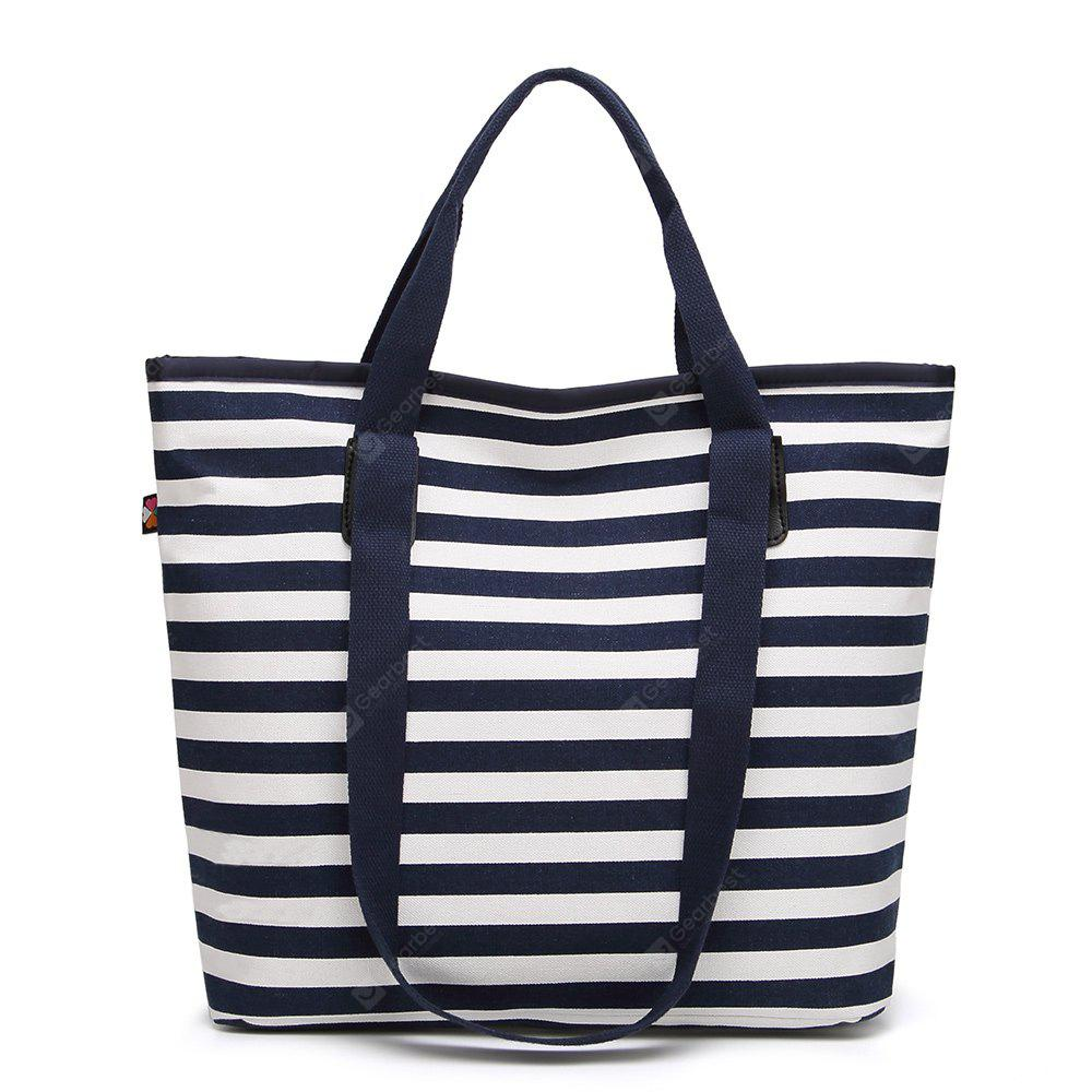 Simple Fashion Casual Stripe Handbag