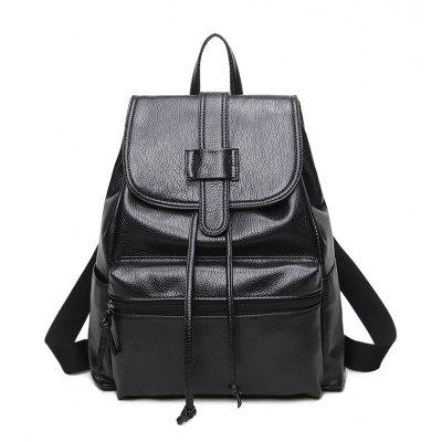 Double Shoulder  Woman Bag Fashion Pack
