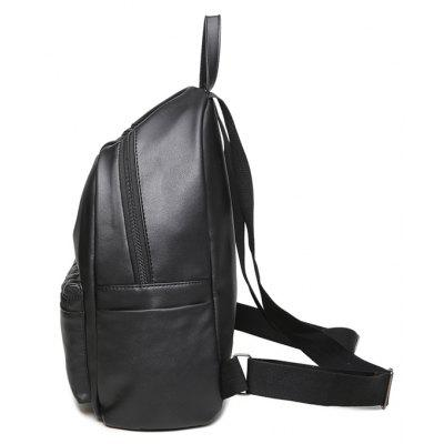 Womens Shoulder Simple Shoulder School BagBackpacks<br>Womens Shoulder Simple Shoulder School Bag<br><br>Capacity: 11 - 20L<br>Color: Black<br>For: Casual, Work<br>Gender: For Women<br>Material: PU Leather<br>Package Contents: 1 x Backpack<br>Package size (L x W x H): 31.00 x 15.00 x 32.00 cm / 12.2 x 5.91 x 12.6 inches<br>Package weight: 0.5000 kg<br>Strap Length: 30cm<br>Style: Leisure, Sport<br>Type: Backpack