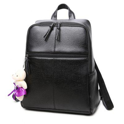 The New Style of Double Shoulder Bag Women'S Casual Han Edition Large Capacity Backpack Fashion College
