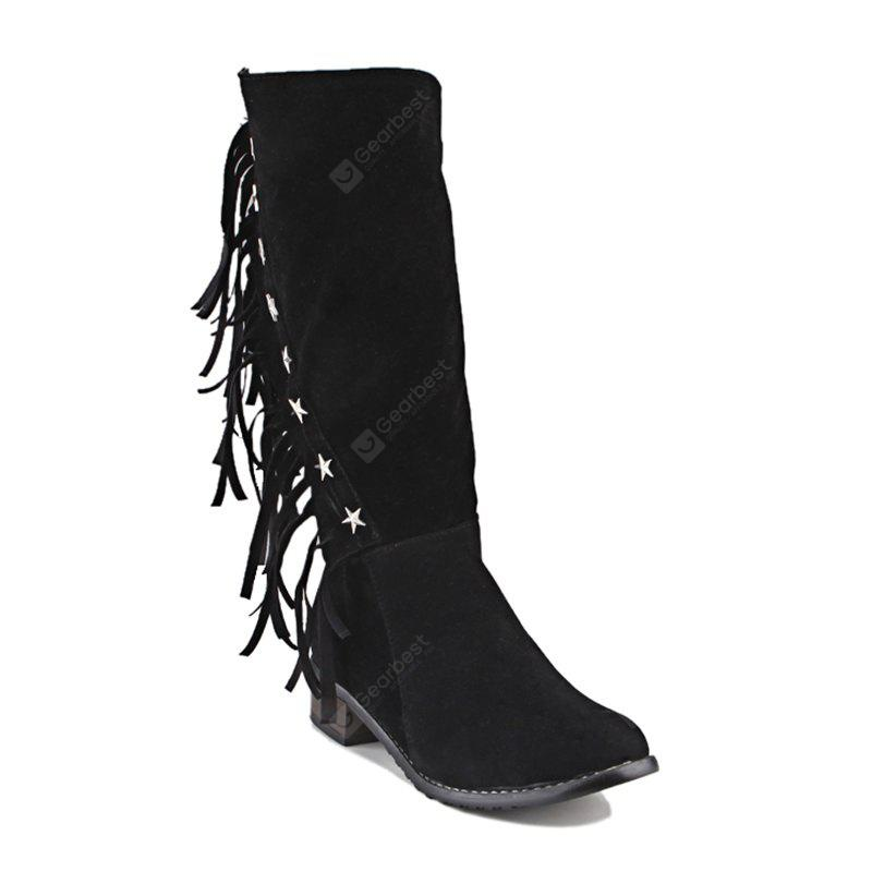 BLACK 9 Women's Boots Cowboy Western Boots Riding Boots Fashion Boots Leatherette Winter Casual Dress
