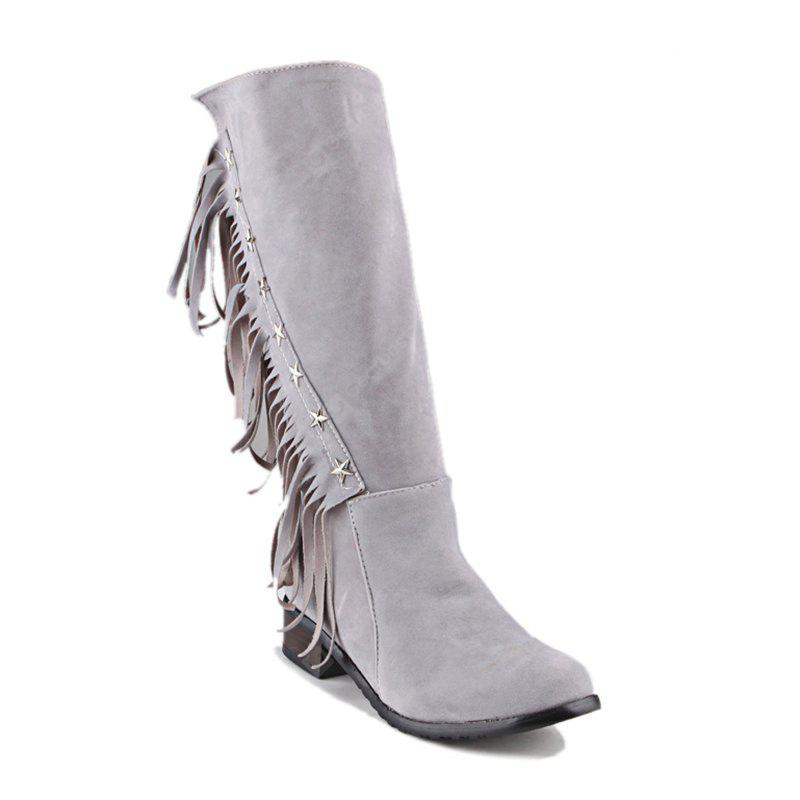Women's Boots Cowboy Western Boots Riding Boots Fashion Boots Leatherette Winter Casual Dress