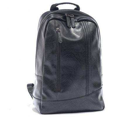 Portable Trendy Men PU BackpackBackpacks<br>Portable Trendy Men PU Backpack<br><br>For: Hiking, Adventure, Camping, Climbing, Cycling, Fishing, Other, Traveling<br>Material: PU Leather<br>Package Contents: 1 x Backpack<br>Package size (L x W x H): 45.00 x 33.00 x 15.00 cm / 17.72 x 12.99 x 5.91 inches<br>Package weight: 0.4000 kg<br>Type: Backpack