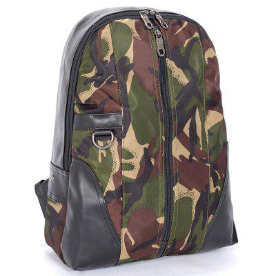 Trendy Fashionable Camouflage Men BackpackBackpacks<br>Trendy Fashionable Camouflage Men Backpack<br><br>For: Other, Traveling, Hiking, Fishing, Cycling, Climbing, Camping, Adventure<br>Material: PU Leather, Nylon<br>Package Contents: 1 x Backpack<br>Package size (L x W x H): 43.00 x 32.00 x 15.00 cm / 16.93 x 12.6 x 5.91 inches<br>Package weight: 0.4000 kg<br>Type: Backpack