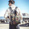 Trendy Fashionable Camouflage Men Backpack - YELLOW AND GREEN