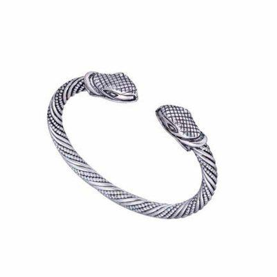 Buy Open Cuff Jewelry Viking Bracelet Bangle Snake Nail Medieval Norse Jewelry, SILVER AND BLACK, Watches & Jewelry, Fashion Jewelry, Bracelets & Bangles for $13.89 in GearBest store