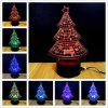M.Sparkling TD020 3D Lamp Creative Christmas Tree - COLORFUL
