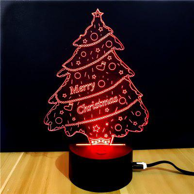 M.Sparkling TD023 Creative Christmas 3D LED  Lamp