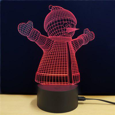 M.Sparkling TD047 Creative Christmas 3D LED Lamp