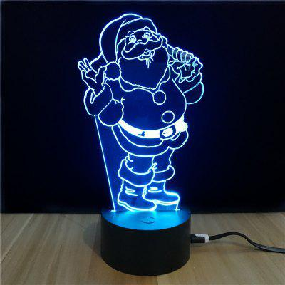M.Sparkling TD048 Creative Christmas 3D LED Lamp
