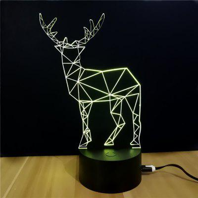 M.Sparkling TD059 Creative Christmas 3D LED Lamp