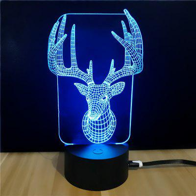 M.Sparkling TD067 Creative Christmas 3D LED Lamp