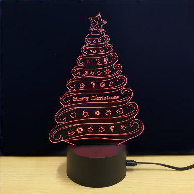 M.Sparkling TD087 Creative Christmas 3D LED Lamp